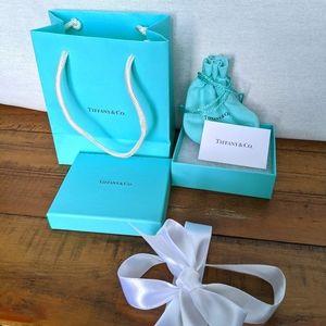 Tiffany & Co. Bag, Box, Ribbon, and Bag